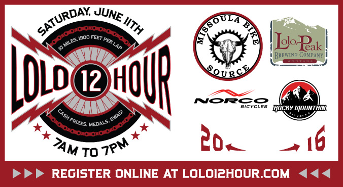 Lolo 12 Hour Race Missoula Saturday June 11th
