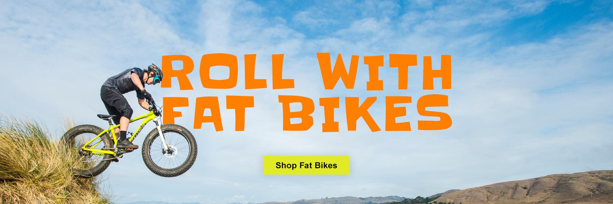 Fat Bikes at Village CycleSport