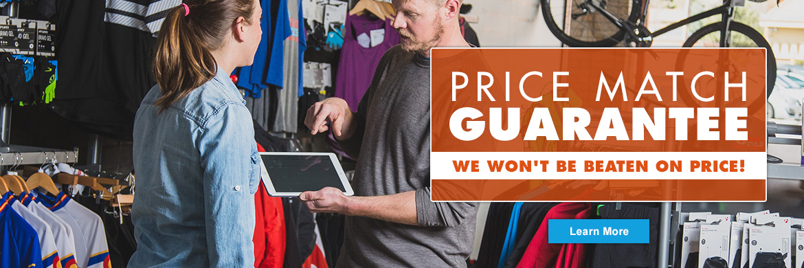 Village CycleSport's Price Match Guarantee