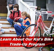 Kid's Bike Trade-in Program
