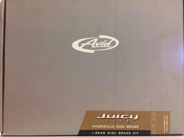 Avid Avid Juicy 5 Hydraulic Disc Brake, 185 MM, Rear