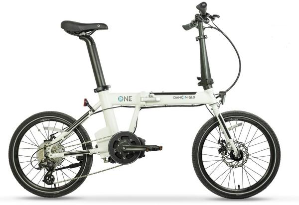 Dahon K-One Plus Folding E-Bike Mid Drive Black