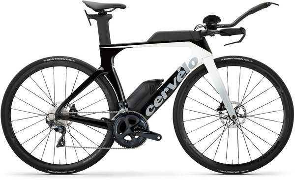 Cervelo P SERIES ULTEGRA DISC Color: White/Light Grey