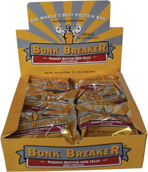 Bonk Breaker High Protein Bar (12-Count Box)