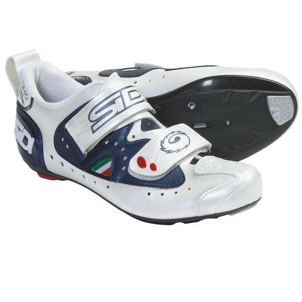 Sidi T2 Carbon Shoes Midnight/White