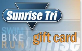 Sunrise Tri Gift Card - FREE 1-3 DAY SHIPPING