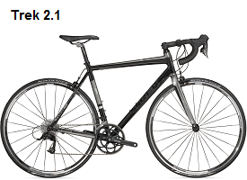 Trek 2.1 Road Bike Rental