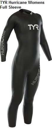 TYR Hurricane Women's Full Sleeve Wetsuit Rental