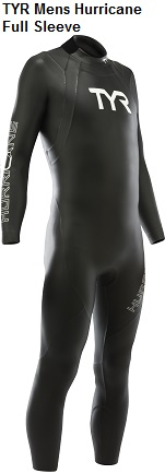 TYR Hurricane Men's Full Sleeve Wetsuit Rental