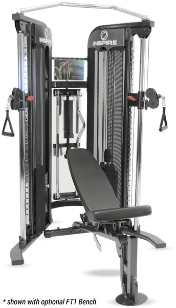 Inspire Fitness FT-1 Functional Trainer W/ Bench