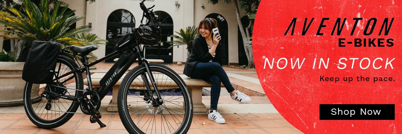 Aventon Ebikes at McLain Cycle & Fitness