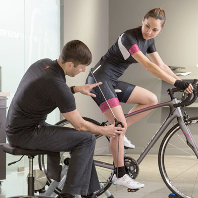 Bike Fitting at McLain Cycle & Fitness