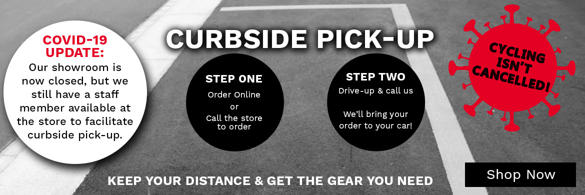 Now Offering Curbside Pick-up at McLain Cycle & Fitness