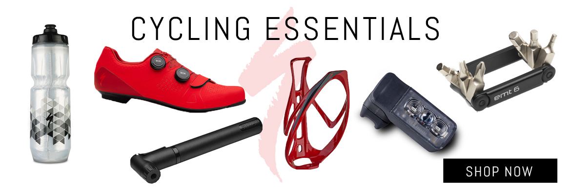 Shop Specialized Cycling Essentials at McLain Cycle & Fitness