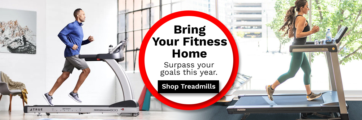 Bring your fitness home with a treadmill from McLain Cycle & Fitness