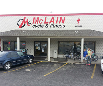 Mclain Cycle & Fitness Garfield store front