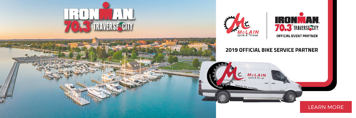 McLain's is proud to be an Official Bike Service Partner for the Ironman 70.3