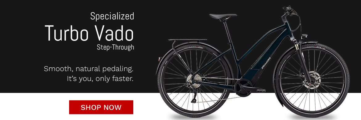 Specialized Turbo Vado Step-Through Now in Stock