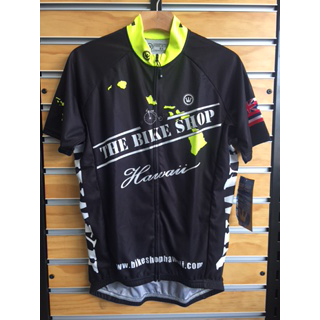 The Bike Shop JER HI ISLAND VIS C-CUT SIZE BLK/HI-VIS