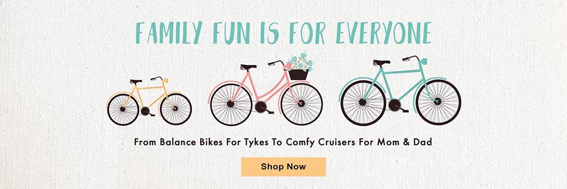 Family Bikes Honolulu Hawaii