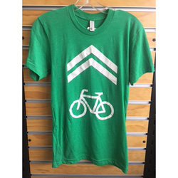 The Bike Shop BIKE LANE TSHIRT GREEN