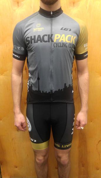 Bateman's Shack Pack Cycling Club Bibshort