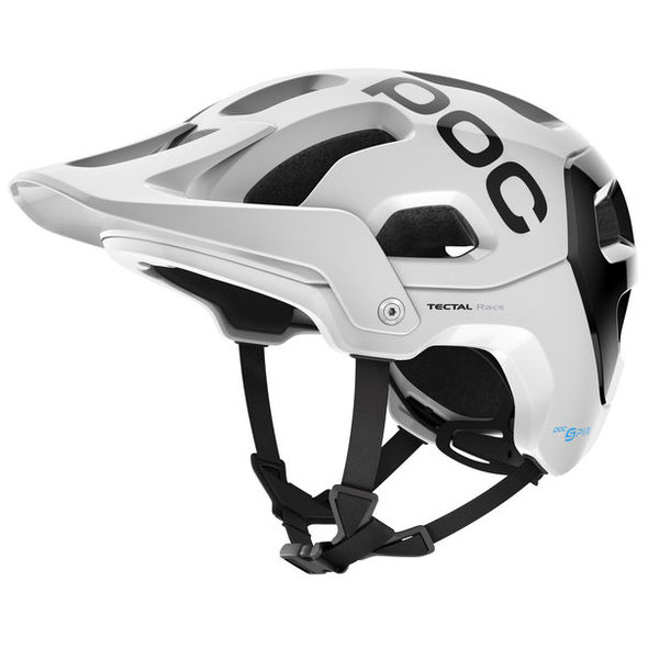 POC Tectal Race Spin Color: hydrogen white/uranium black