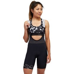 Peppermint Cycling Crystalized Bib Shorts