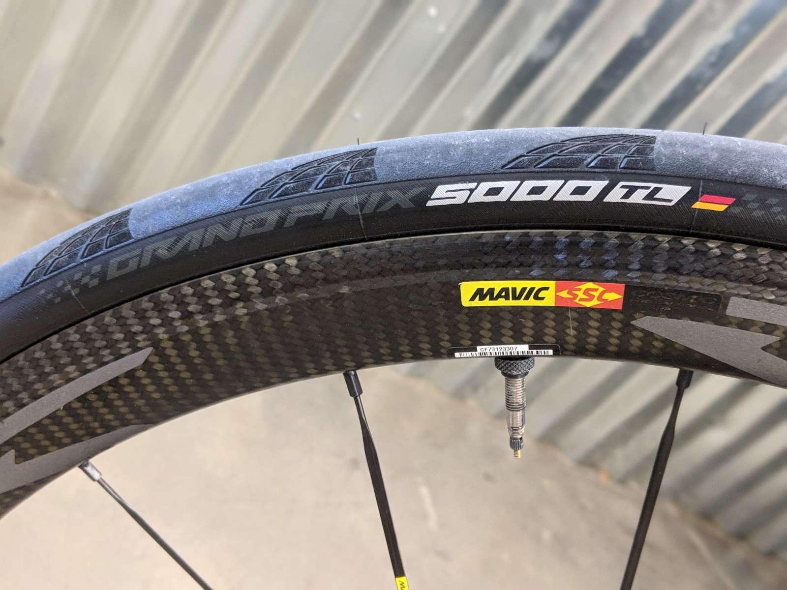 Continental GP 5000 tire
