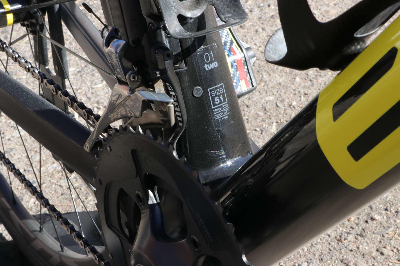 BMC SLR01 bottom bracket/drivetrain