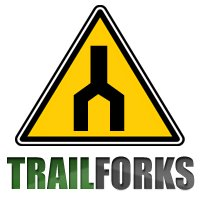 Trailforks logo, link to site