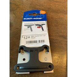 Busch & Mueller Saddle Rail Light Mount