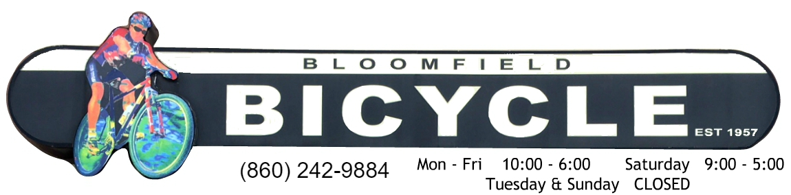 Bloomfield Bicycle & Repair Shop Logo