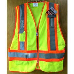 Visijax Hi-Viz LED Adjustable Safety Vest