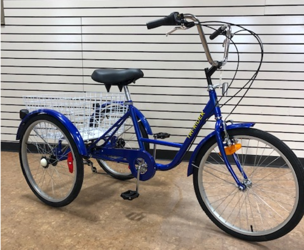 Belize Bicycle Company Tri Rider 24