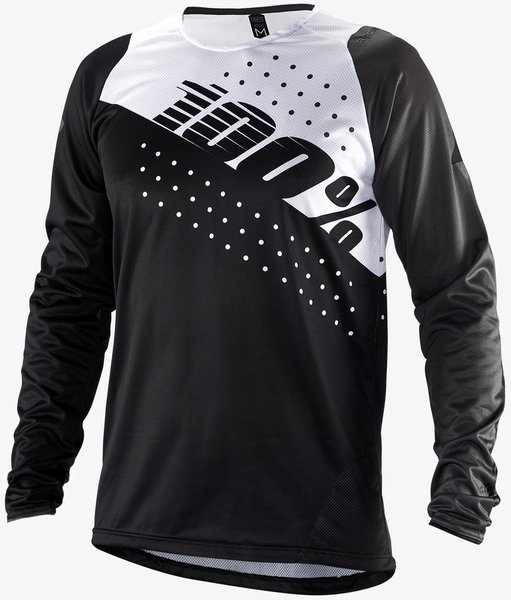 100% R-Core Jersey LS Color: Black
