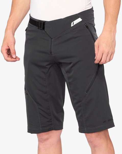 100% Airmatic All Mtn Short Color: Charcoal