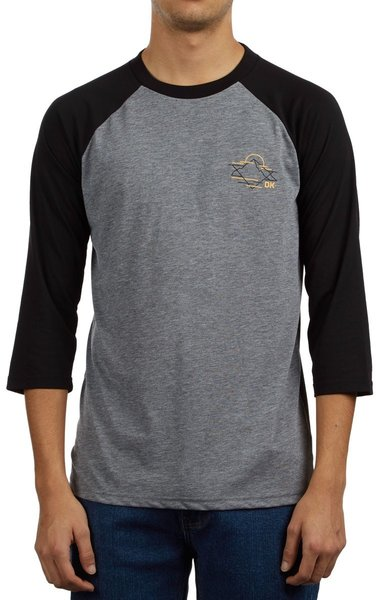 Dakine Alpine 3/4 Raglan Tech Tee Color: Black