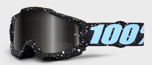 100% Accuri Goggles Color: Milkyway/Mirror Silver Lens