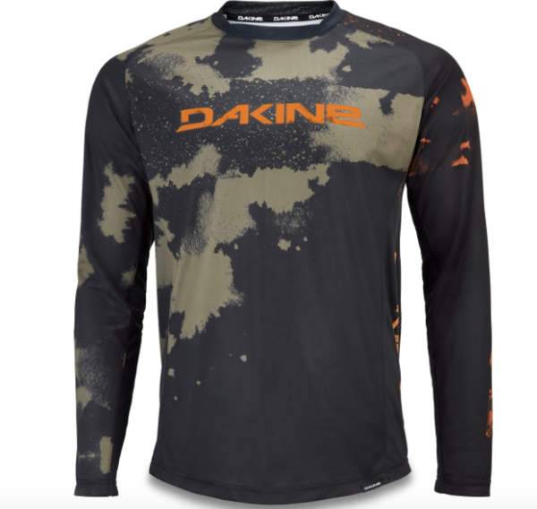 Dakine Thrillium Long Sleeve Jersey Color: Olive