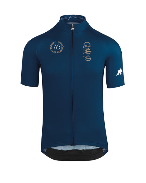 Assos Fortoni Short Sleeve Jersey Color: caleumBlue
