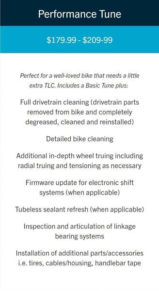 Complete Overhaul Full Suspension Bikes