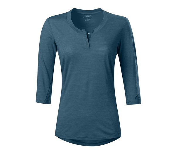7mesh Desperado Merino Henley - Women's 2019 Color: Mallard Blue