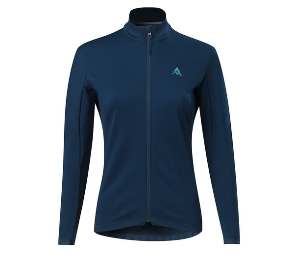7mesh Callaghan Merino Jersey - Women's Color: Huckleberry Blue