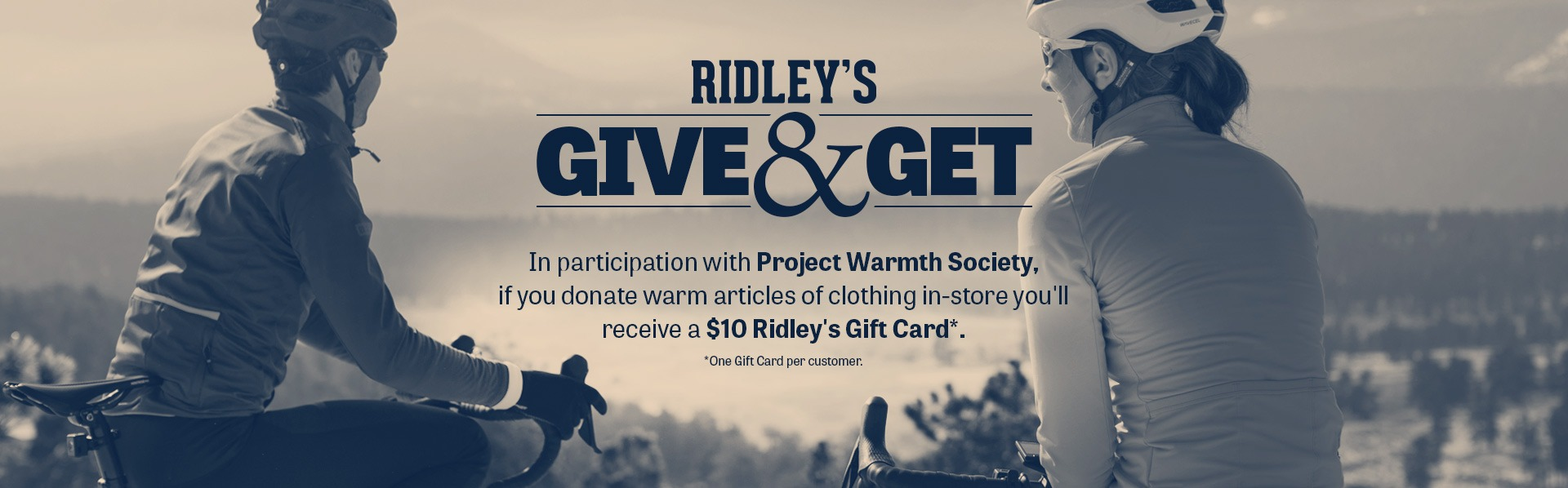 Ridley's Give and Get