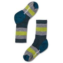 Smartwool Hike Medium Stripe Crew Socks - Kids