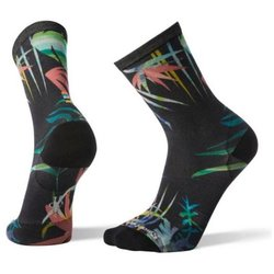 Smartwool Socks Curated Fern Trail Crew BLK