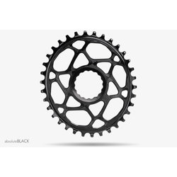 Absolute Black Oval Boost Cinch Chainring for Race Face