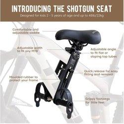 Kids Ride Shotgun Shotgun Front Mounted Child Seat
