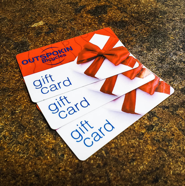 Outspokin Bicycles Gift Card